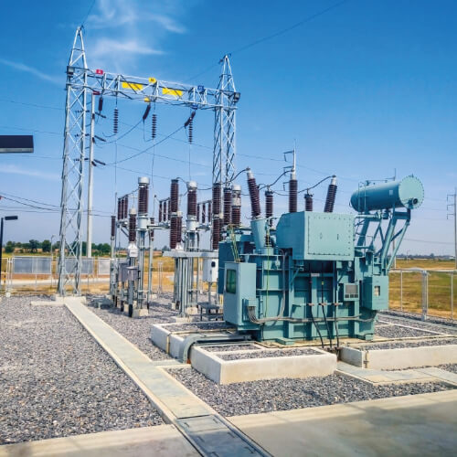 RENSEC on 380kV High  Voltage Stations